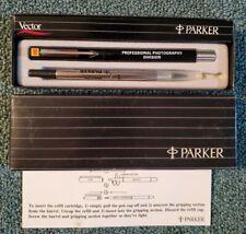 Unused Eastman Kodak Vintage Parker Vector Pen Professional Photography Division