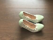 Ladies Bally 1931 Flyleflex Mint Green High Heeled Stilleto Shoes Size 38EU (5)