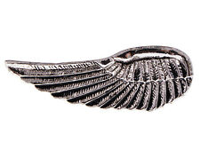 Double Finger Gothic Silver Ring Greek Speed Wings Spartan Angel Custom Ring New