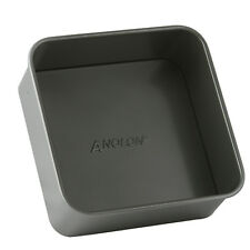 Anolon Suregrip 20cm Loose Base Square Pan Carbon Steel Bakeware NEW