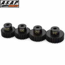 Hot Racing SSXS8024 Speed Tune Steel 48P Pinion Gear Set 28T 30T 32T 34T
