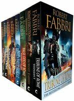 Robert Fabbri Vespasian Series 8 Books Collection Tribune of Rome,Furies of Rome