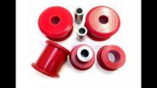 MK1 SEAT LEON SUPRA -  MK1 AUDI S3 - MK1 AUDI TT FRONT ARM BUSHES - RED Poli