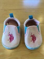 Baby Girl Polo Ralph Lauren Shoes, Size 2 (3-6 Months)