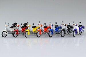 1:32 Scale Aoshima Honda Super Cub Moped Collection Model Kit #532