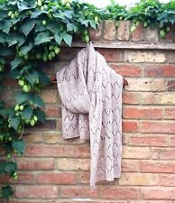 Gorgeous Hand Knitted Classic Scarf / Christmas gift / Wool gift /Gift for her