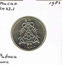 Macau 1 pataca 1982 UNC - KM23.1 (mb033)