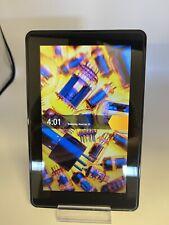 "Amazon Kindle Fire 1st Generation Tablet 8GB 7"" Screen Wi-Fi Model #D01400 WORKS"