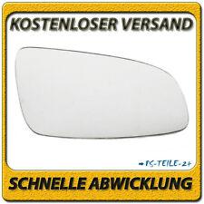 Außenspiegel Spiegelglas für OPEL ASTRA H 2004-2008 rechts Beifahrerseite konvex