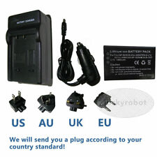 NP-60 battery+charger For Fuji F410 Hitachi DZ-HV575E DZ HV564E DZHV565E NEW