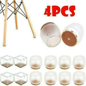 NEW 4pcs Silicon Furniture Leg Protection Cover Table Feet Pad Floor Protector