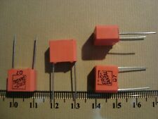 4 Tantal Kondensatoren, capacitor ERO, 10uF 40V, RM10, Audio, NOS