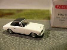 1/87 Wiking Glas 1700 GT Cabrio weiß mit Dach 0186 99 B