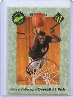 Larry Johnson Rookie Card 1991 Classic Draft Picks #44 Charlotte Hornets