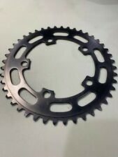 VINTAGE OLD SCHOOL SUGINO 44 T CHAINRING JAPAN SMOKE GREY