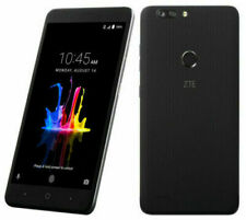 New Zte Blade Z Max Z982 32Gb 4G Lte 16Mb Black Gsm Unlocked Smartphone