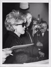 Pierrette Daniels at W 54th Street Police Station NYC 6X8 Vintage Still