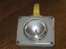 New listing Usn Portable Ship Lantern Battery Powered Vintage Us Navy S74434-4 Sym 100.2