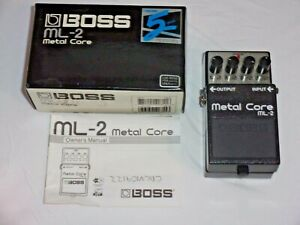 Boss Roland ML-2 Metal Core - Distortion Guitar Effects Pedal
