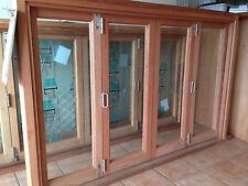 4 sash Pacific Maple Bifold  Window MultiFold