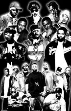 "WU-TANG CLAN  11x17  ""Black Light"" Poster"