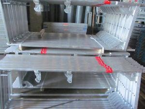 Neues Alu-Layher/Assco Gerüst 101m² Baugerüst Alugerüst