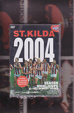 ST.KILDA 2004  (AFL sport  2 dvd set)  includes the wizard cup final