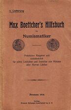 Boettcher, Hilfsbuch für Numismatiker, T. III, 1914/15