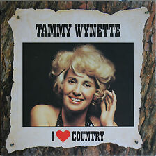 "TAMMY WYNETTE ""I LOVE COUNTRY""   33T  LP"