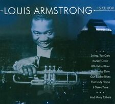 Louis Armstrong - 15 cd box    New in seal