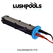 CHLOROMATIC P-Series P100 Replacement Chlorinator Cell SOLID PLATE 5yr Warranty