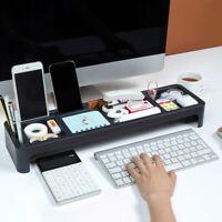 Multi-function desktop Office Storage Rack Keyboard Storage Box Phone Holder
