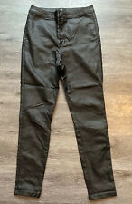 Missguided Shinny Jeans Size 12