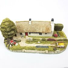 Ian M Fraser Burns Cottage Miniature Replica Cottages of Scotland Model 1993