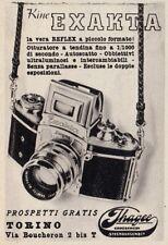 Z3770 Macchina fotografica EXAKTA - Pubblicità d'epoca - 1939 old advertising