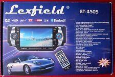 KFZ Autoradio Lexfield BT-450S  CD DVD viel Zubehör für Bastler 259,99 Euro NP