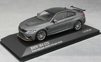 Minichamps BMW M4 GTS Frozen Dark Grey Met (Grey wheels) 410025225 1/43 Ltd 336