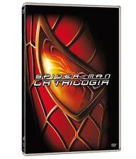 SPIDER-MAN TRILOGIA 01- 03 (3 DVD) Collezione Primi 3  Film con Tobey Maguire