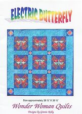 Electric Butterfly ~ Quilt Quilting Pattern ~ by Wonder Woman Quilts