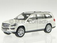 Mercedes X166 GL-Class 2013 diamond white diecast model car Norev 1/43