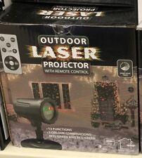 Projecteur Laser LED Lampe de décoration Extérieur pour Noël
