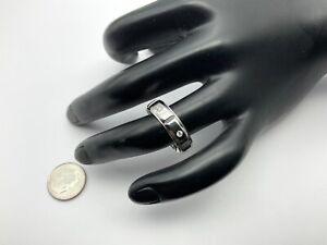 Scott Kay 950 Palladium And 0.30 CTW Diamonds Men's Ring Size 9.5, 5.8 Grams