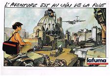 Publicité Advertising 1986 (2 pages) Les Bagages et vetements Lafuma