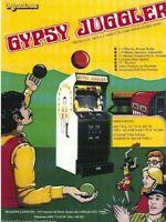 Gypsy Juggler Arcade FLYER Original Meadows 1978 Video Game Artwork Sheet Retro