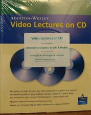 Addison-Wesley Video Lectures on CD for Intermediate Algebra: Graphs & Models