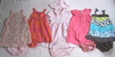 Girl 24 M 2T: CUTE 5 DRESS DRESSES SETS LOT GAP; OLD NAVY; THE CHILDREN'S PLACE