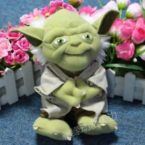 """Master Yoda Plush Plushie Large Star Toy Wars 9"""" 23cm Character"""