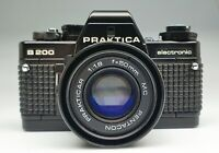 PRAKTICA B 200 con PRAKTICAR MC 50/1,8