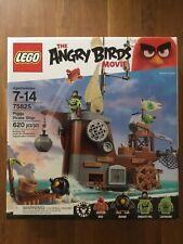 LEGO Angry Birds 75825 Piggy Pirate Ship NISB FREE SHIP