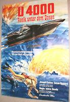 A1.Filmplakat ,U 4000 PANIK UNTER DEM OZEAN,JOSEPH COTTEN,CESAR ROMERO